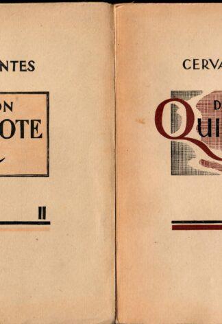 Don Quijote I, II - Miguel de Cervantes Saavedra