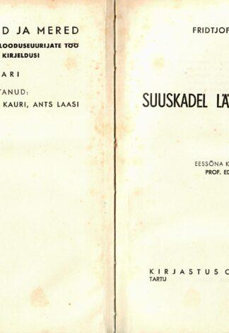 Suuskadel läbi Gröönimaa - Fridtjof Nansen