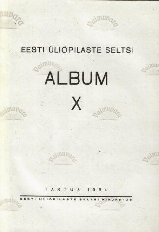 Eesti Üliõpilaste Seltsi album X