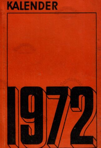 Kalender 1972
