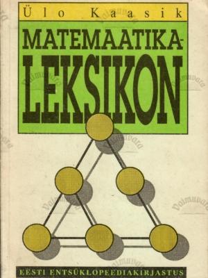 Matemaatikaleksikon – Ülo Kaasik