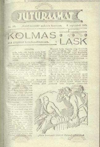 Raamat Juturaamat 1935_Päevsaleht