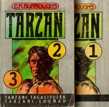 Tarzan 1.-3. osa - Edgar Rice Burroughs
