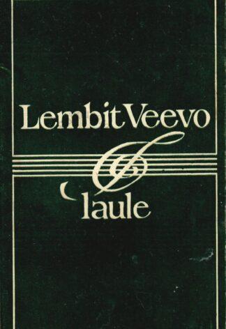 Laule - Lembit Veevo