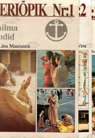 Leeriõpik Nr. 1-4 Maailma usundid. Piibliõpik. Kiriku ajalugu ja teave. Dogmaatika ja eetika