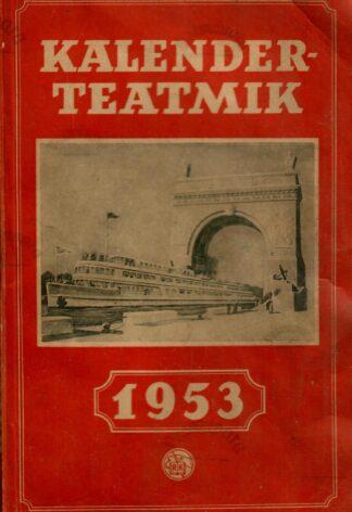 Kalender-teatmik 1953