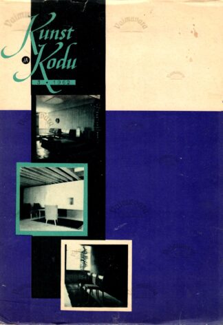 Kunst ja Kodu 1962-3