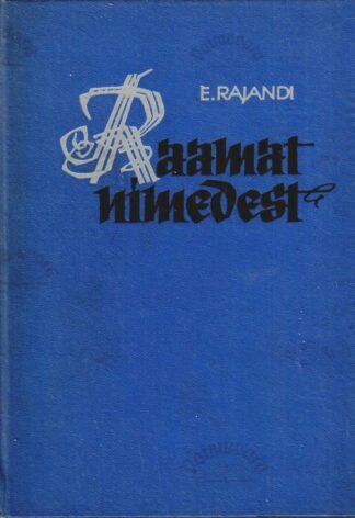 Raamat nimedest - Edgar Rajandi (siniste kaantega)