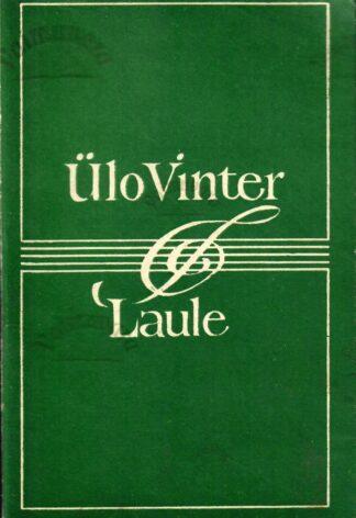 Laule - Ülo Vinter 1974