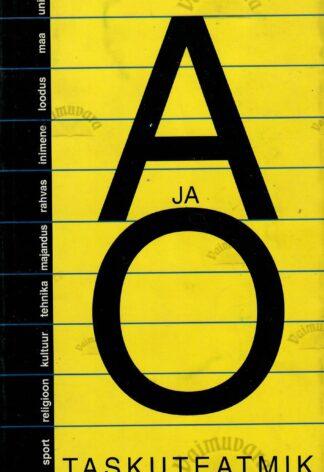 A ja O taskuteatmik 1999