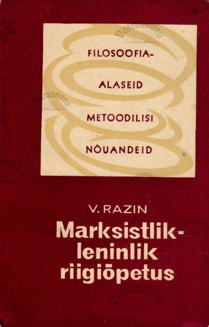 Marksistlik-leninlik riigiõpetus - Vladimir Razin